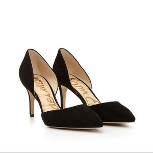 Sam Edelman Tesla D'Orsay Pumps Leather